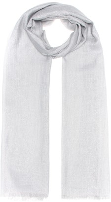 Brunello Cucinelli Cashmere and silk-blend scarf