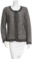 Chanel Embellished Cashmere-Blend Cardigan