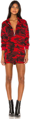superdown Reyna Hooded Sweatshirt Dress