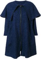 Gianluca Capannolo foldover zip coat