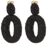 Oscar de la Renta Classic Oscar O C Earrings Earring