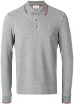 Moncler classic polo top - men - Cotton - S