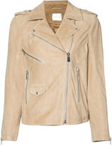 Anine Bing biker jacket - women - Goat Suede/Viscose - XS