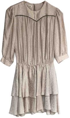 Zadig & Voltaire Spring Summer 2019 Beige Silk Dresses
