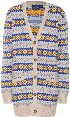 Polo Ralph Lauren Cotton, silk and wool cardigan