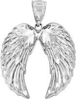 FINE JEWELRY Sterling Silver Wings Charm Pendant