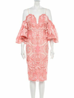 Thurley Orissa Knee-Length Dress w/ Tags Pink
