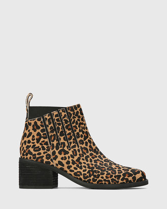 Wittner Jaime Leather Ankle Boots