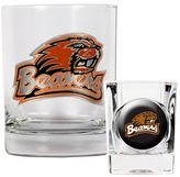 Oregon State Beavers 2-pc. Rocks Glass & Shot Glass Set