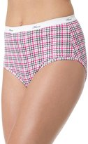 Red Label Hanes Women's Plus Cotton Brief 5-Pack