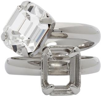 MM6 MAISON MARGIELA Silver Missing Stone Ring