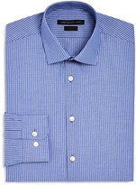 John Varvatos Dobby Stripe Stretch Slim Fit Dress Shirt