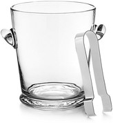 Ralph Lauren Home Ethan Ice Bucket with Tongs clear