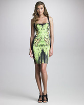 Just Cavalli Printed Sheath Dress