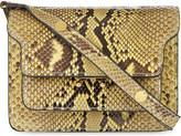 Marni Mini Trunk python-leather shoulder bag