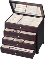 Asstd National Brand Java 3-Drawer Jewelry Box