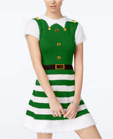 Planet Gold Juniors' Elf Skater Sweater Dress