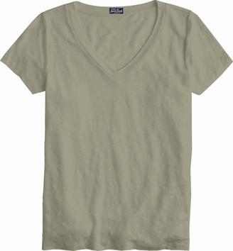 MC2 Saint Barth Military Green Linen T-shirt