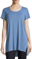 Eileen Fisher Slubby Organic Cotton Jersey Tee