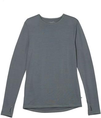 Smalls Merino Men's 100% Traceable Superfine Merino Top In Grey