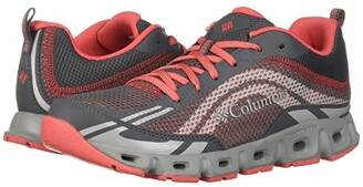 Columbia Drainmaker IV (Graphite/Red Coral) Women's Shoes