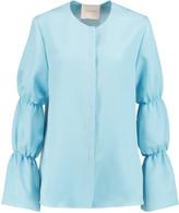 Roksanda Rosella silk-blend satin blouse