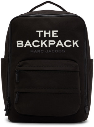 Marc Jacobs Black The Backpack Backpack