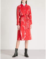 Mo&Co. PVC trench coat