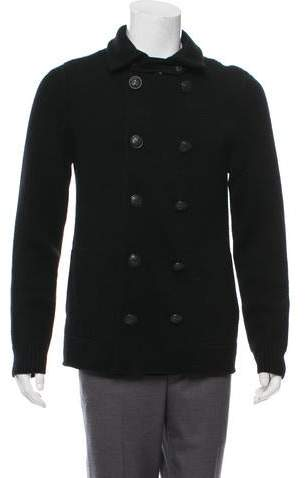 faf3ca6dc21 Wool Double-Breasted Cardigan