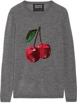 Markus Lupfer Sequin-embellished Merino Wool Sweater - medium