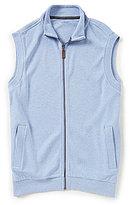 Roundtree & Yorke Solid Zipper Vest