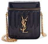 Saint Laurent Vicky Patent Leather Vanity Case Crossbody Bag