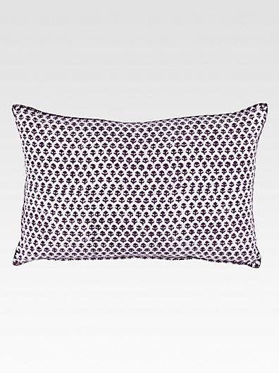 Bindi John Robshaw Brinjal Decorative Pillow