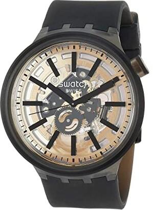 Swatch Dark Taste - SO27B115 (Black) Watches