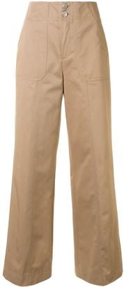 PortsPURE Contrast-Pocket Utilitarian Trousers