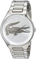 Lacoste Women's Quartz Watch with Valencia Analogue Quartz Stainless Steel 2000931