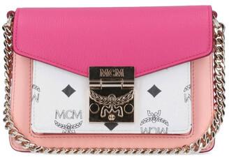 MCM Patricia Visetos Colour Block Crossbody Bag