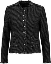 Maje Metallic tweed jacket