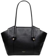Radley Eltham Gardens Leather Large Tote Bag, Black