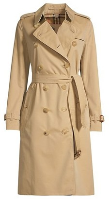 Burberry Heritage Kensington Long-Length Trench Coat