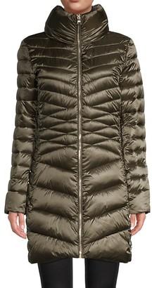Karl Lagerfeld Paris Hidden Hood Puffer