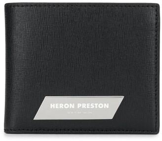 Heron Preston Logo Patch Bifold Wallet