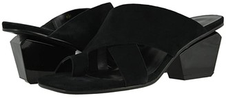 VANELi Moara (Black Suede/Mtch Elastic) Women's Shoes