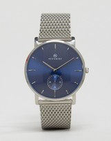 Accurist Mesh Bracelet Watch In Silver