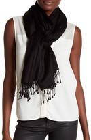 Saachi Black Luxurious Cashmere Blend Wrap