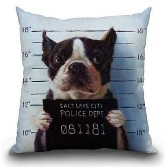 East Urban Home Mug Shot Throw Pillow East Urban Home