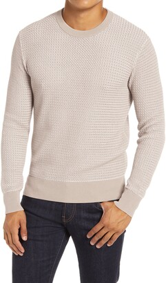 Club Monaco Two Tone Crewneck Sweater