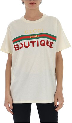 Gucci Boutique Printed T-Shirt