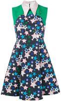 DELPOZO star-print collared dress