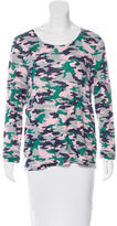 Chinti and Parker Camouflage Long Sleeve Top